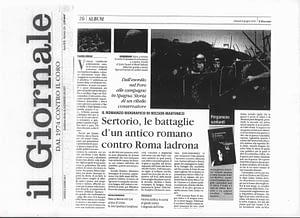 Il Giornale recensione Daniele Abbiati Le pergamene di Sertorio