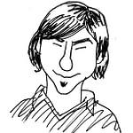 Lavezzi secondo Silvio Perrella (disegno di Giancarlo Covino)